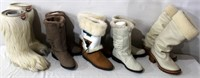 5- Pr Ladies Winter Boots (size 7 & 8)