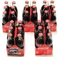 5- 6 Packs of Coca-Cola (XXXIII 1999 Super Bowl Bronco Back to Back Champions)