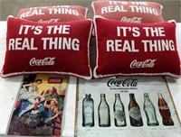 Coca-Cola Pillow, Tin Signs