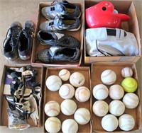 Misc Baseball Items, Softballs