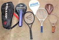 Tennis Rackets & Carring Bag