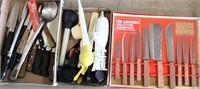 Misc Kitchen Utensils, New Knife Set