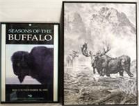 Buffalo, Moose Pics