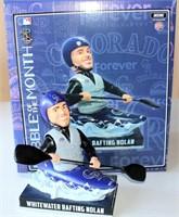 MLB Ltd Ed #28 Nolan Arenado Bobble Head (in box) - White Water Rafting