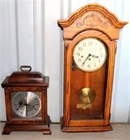 (2) Mantle Clocks