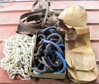 Misc Horse Tack - Saddle Bag, Lead Ropes, etc