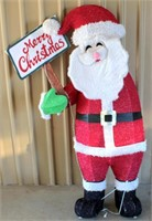 Lighted Life Size Santa