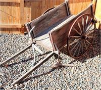 Old Wagon/Yard Art