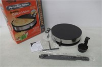 Proctor Silex 38400 Electric Crepe Maker, 13 Inch