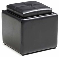 """""""As Is"""" Import Storage Ottoman with Flip"""