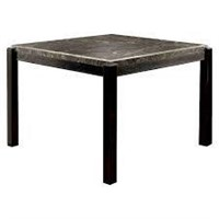 Hazel Counter Height Dining Table with Marble Top