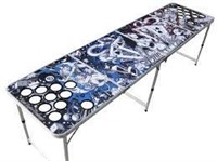 """""""As Is"""" The Pong Squad Tattoo Beer Pong Table with"""