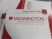 Approximately 945 Sq. Ft. of New Mannington Adura