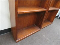 Pair of Bookshelves - 72 x 12 x 36