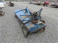 10' Weiss McNair Tractor Mount Sweeper Head
