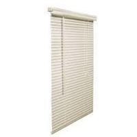 """(2) 1"""" S-Slat PVC Mini Blind 38in x 72in / 97cm x"""