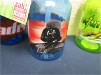 (13) Star Wars & Ninja Turtle Bottles