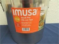 Imusa 12qt Stock Pot