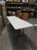 8ft lifetime folding table