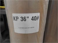"""4 rolls kp36"""" #40 paper"""