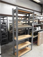 2 sections of speed racking