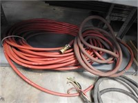 lot of wire and hoses