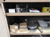 steel cabinet and contents