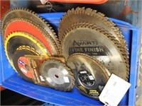 saw blades and spring tags