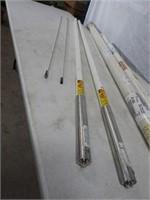 2 fiberglass base antennas