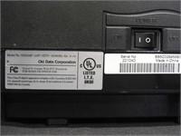 oki b4350 printer w/4 toners