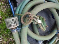 pump hoses and pipe clamp