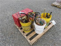 Pallet of Assorted Tools ,Screwdrivers, Hammers &
