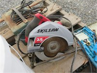 Pallet of Assorted Tools , Pullers, Clamps & More