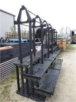 tiered green house racking