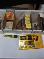 lot of stream light bulbs and accessories