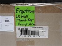 ergotron lx wall mojunted keyboard arm