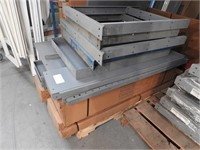 steel shop table parts