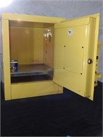 fire cabinet and waste bin