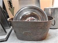 pallet of kitchen equipment