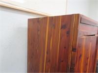 Cedar Wood  Armoire 60 x 26 x 19