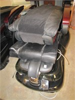 (1) PIPELESS GLASS BOWL PEDICURE SPA CHAIR WITH