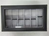 MVPower Leather Watch Box Jewelry Display Storage
