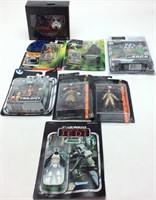 8 STAR WARS ACTION FIGURES LOT