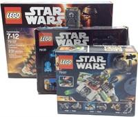 3 STAR WARS LEGO LOT