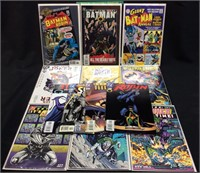 BATMAN, ROBIN, JOKER COMIC BOOKS LOT