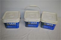 (3) Leak Insurance Concrete Crack Repair Kits