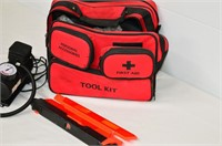 Auto Safety and First Aid Kit