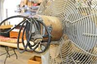 Industrial Pedestal Fan - Needs new motor