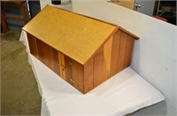 Wooden Play Drive Shed