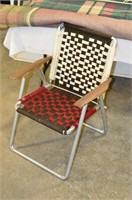 Lawn Chair and Rug